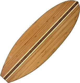 Totally Bamboo 20-7635 surfboard cutting board, 23-inch x 7.5-inch