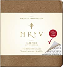 NRSV, XL Edition, Bonded Leather, Brown