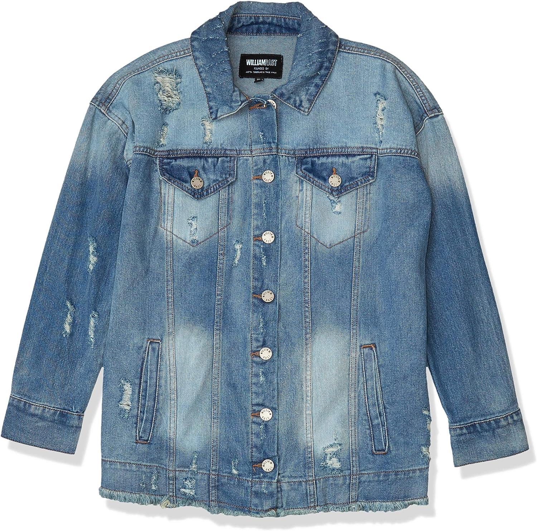 Gloria Vanderbilt Women's Trucker Denim Jacket with Embroidery