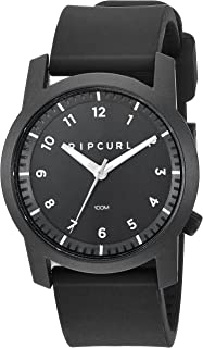 Rip Curl Men's 'Cambridge' Quartz Plastic and Silicone Sport Watch