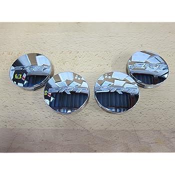 Mopar Satin Black SRT Wheel Center Cap MOPAR SRT Compatible with Chrysler 5QW99RXFAA