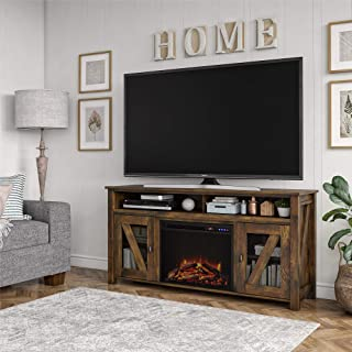 Ameriwood Home Bloomfield Fireplace TV Stand up to 60