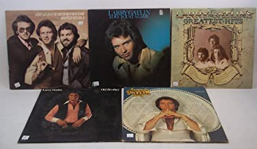Larry Gatlin Lot of 5 Vinyl Record Albums Love Is Just a Game and more