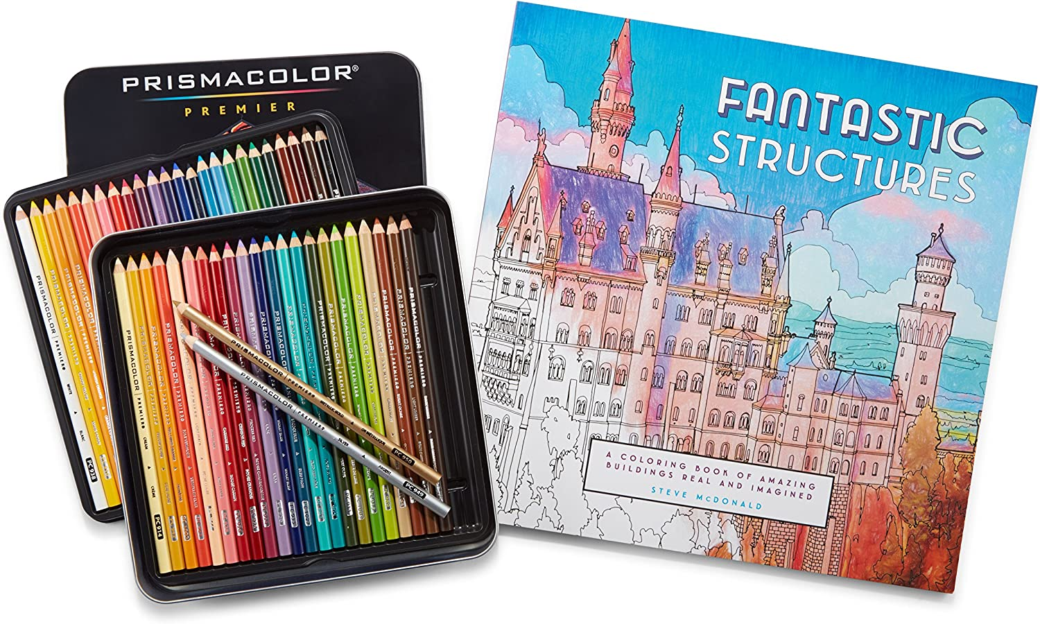 Large-scale sale Prismacolor Premier Colored New Free Shipping Pencils Soft and Adul Core 48 Pack