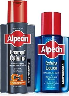 Alpecin Champú y Loción Anticaída | Champú Cafeína C1 y Cafeína Liquida | Champu anticaida hombre y con cafeina | Locion a...