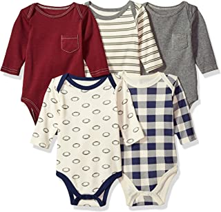 Unisex Baby Long Sleeve Cotton Bodysuits