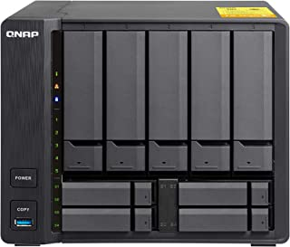QNAP TS-932X-2G-US 5 (+4) Bay 64-bit NAS with Hardware Encryption, Quad Core 1.7GHz, 2GB RAM, 2 x 10GbE(SFP+), 2 x 1GbE