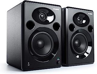Alesis Elevate 5 MKII - Pareja de altavoces de escritorio y monitores de estudio amplificados, para producción musical, PC...