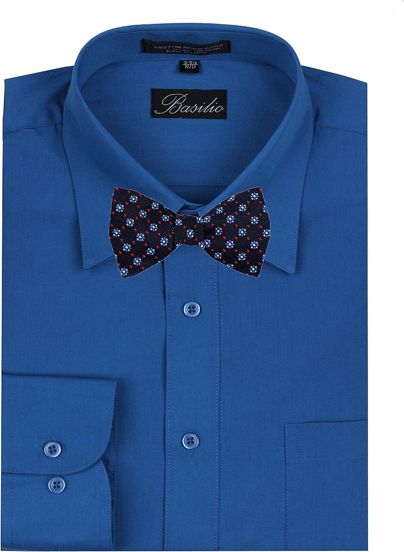 Men's Navy Blue Silk Self Tie Bowtie Tie Yourself Bow Ties
