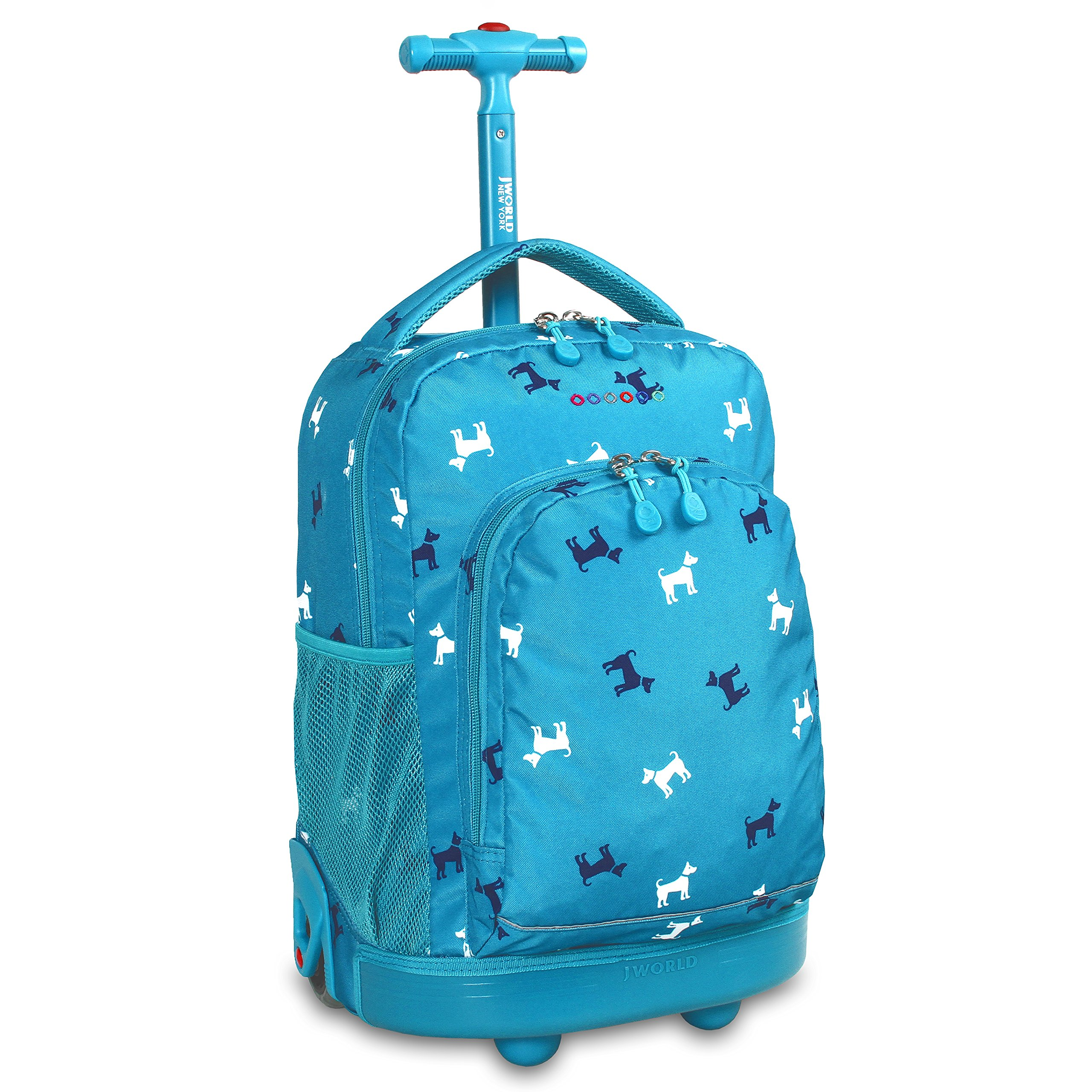 World New York Rolling Backpack