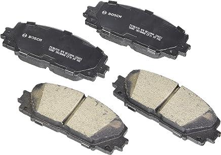 Bosch BC1184A QuietCast Premium Ceramic Disc Brake Pad Set For: Lexus CT200h; Toyota Prius, Prius Plug-In, Prius Prime, Front