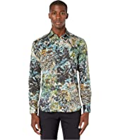 Etro - Painterly Print Button Up Shirt