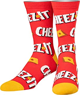 Cool Socks Men's Knit Crew Socks, Pepsi