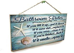 Amazon Com Beach Bathroom Decor