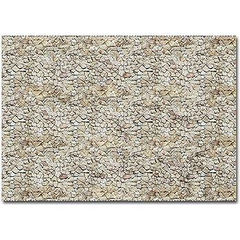 Busch 7423 Wall card sandstone HO Scenery Scale Model Scenery MODELS11 INC