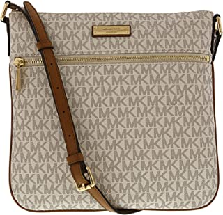 0f717450fbf1 MICHAEL Michael Kors Bedford Signature Flat Cross-Body Bag