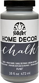 FolkArt 34876 Home Decor Chalk Furniture & Craft Paint in Assorted Colors, 16 ounce, Maui Sand