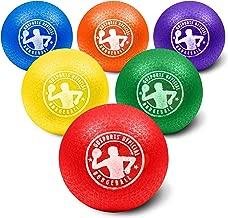 GoSports Inflatable Dodgeball - No Sting Balls - Includes Ball Pump & Mesh Bag