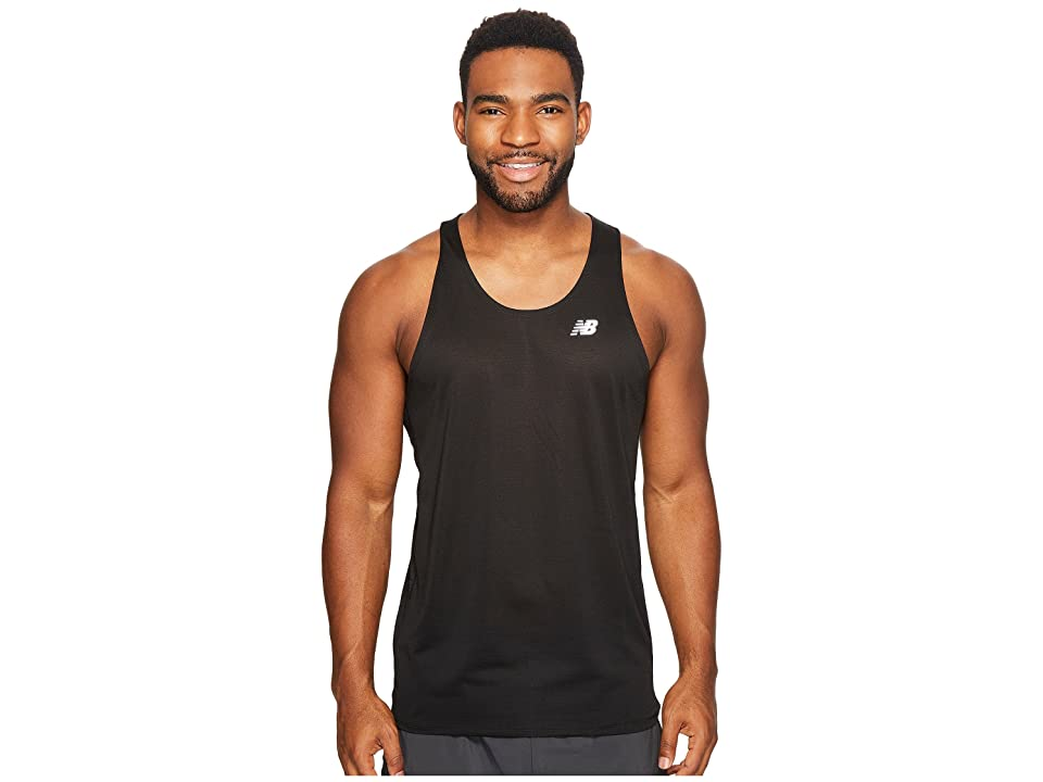 New Balance Accelerate Singlet (Black) Men