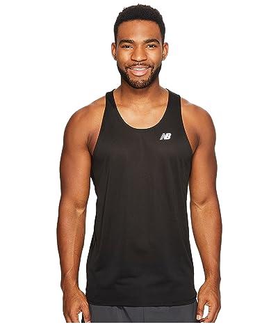 New Balance Accelerate Singlet (Black) Men