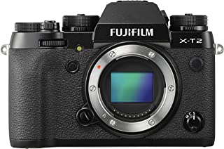 Fujifilm X-T2-24.3 MP Mirrorless Digital Camera Body Only, Black