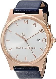 Marc by Marc Jacobs Women's MJ1609 Henry Analog Display Analog Quartz Blue Watch