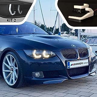 3 Series E92 Coupe / E93 Convertible / M3 E90 Before Facelift 2005, 2006, 2007, 2008, 2009, 2010 - BJ ICONIC LIGHTS (KIT 2) For Xenon Headlights