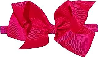 ES Kids Bow Headband - dark pink, Dark Pink