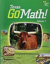 Go Math! Texas 2015, Grade 1: 1-2