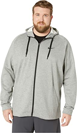 Big & Tall Thermal Hoodie Full Zip