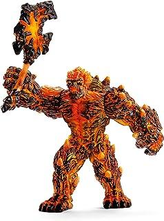 SCHLEICH Eldrador Lava Golem with Weapon Imaginative Figurine for Kids Ages 7-12