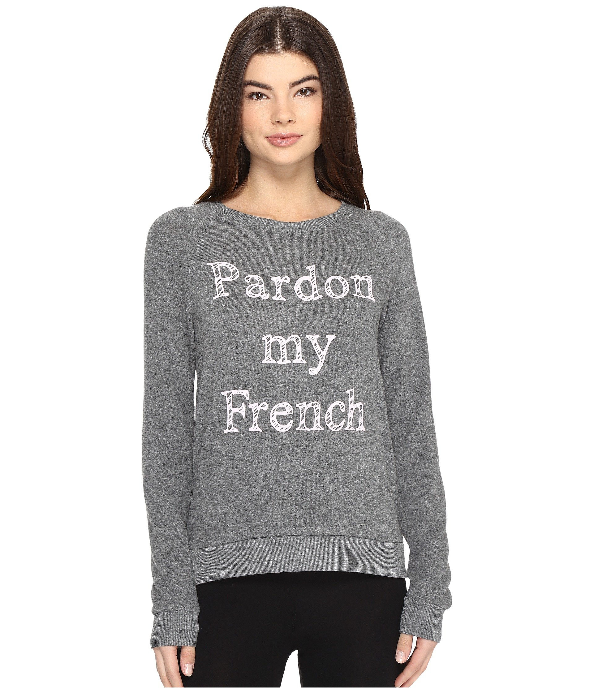 p j salvage pardon my french sweatshirt at 6pm. Black Bedroom Furniture Sets. Home Design Ideas