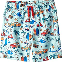 Hatley Kids Surf Island Swim Trunks (Toddler/Little Kids/Big Kids)