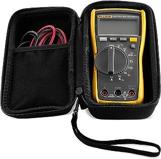 Caseling Hard Case fits Fluke 117 or 115 True RMS Digital Multimeter Compact (Not for Fluke 101 106 107)