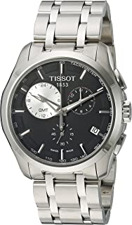 Tissot Men's T035.439.11.051.00 Black Dial Couturier Watch