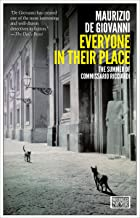Everyone in Their Place: The Summer of Commissario Ricciardi (The Commissario Ricciardi Mysteries Book 3)