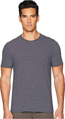 Vince Feeder Stripe Short Sleeve T-Shirt