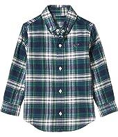 Flannel Whale Shirt (Toddler/Little Kids/Big Kids)