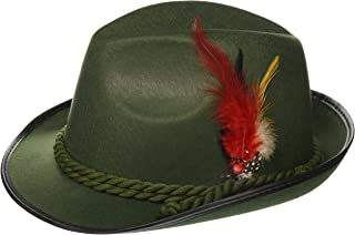 Forum Novelties German Bavarian Alpine Oktoberfest Hat – One Size