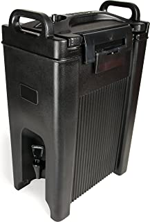 Carlisle XT500003 Cateraide Insulated Beverage Server/Dispenser, 5 Gallon, Black