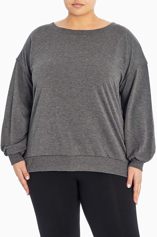 Marika Women's Plus Size Violet Pullover Sweater