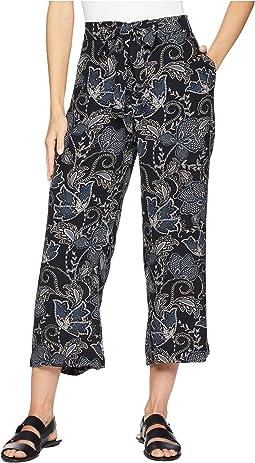 Calypso Wide Leg Crop Pants