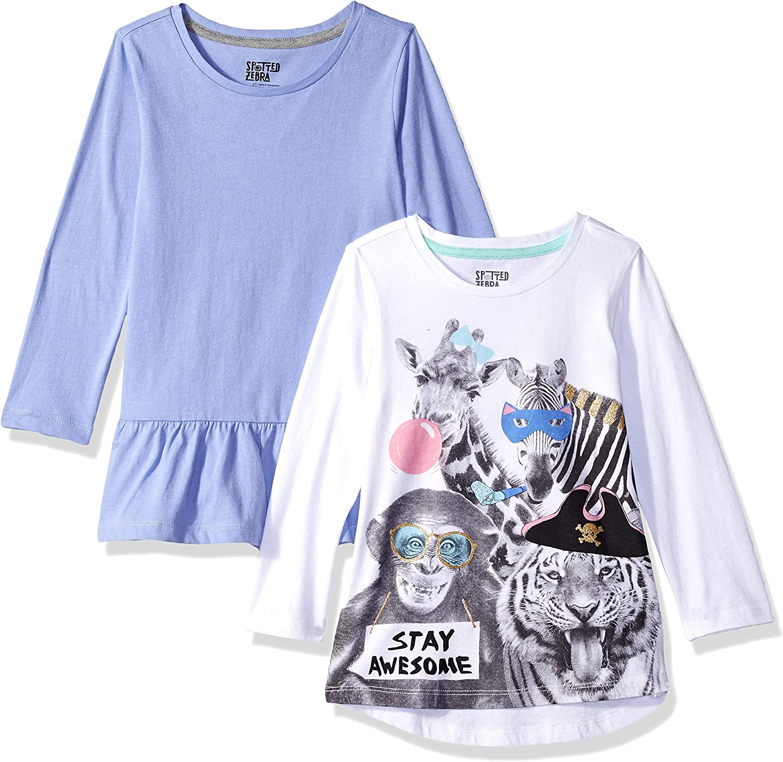 Spotted Zebra Girls Long-Sleeve T-Shirts Brand