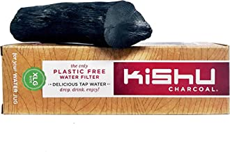 Kishu Charcoal - X-large Activated Charcoal Water Filter for 3 Gallon Jugs. The ONLY Activated Charcoal Pre-Boiled & Ready To Use!