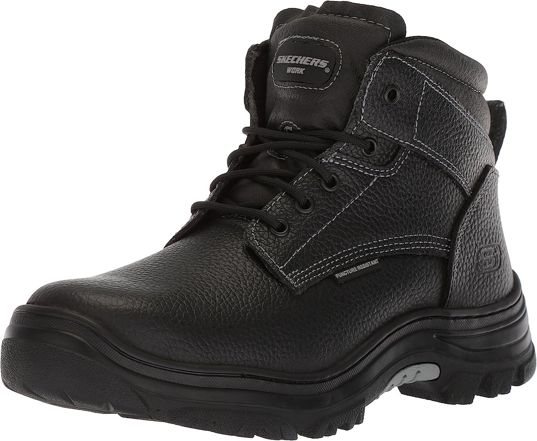 Skechers Genuine Max 67% OFF Men's Burgin-Tarlac Boot Industrial