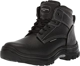 Mens Tarlac Steel Toe Work Boot - Black