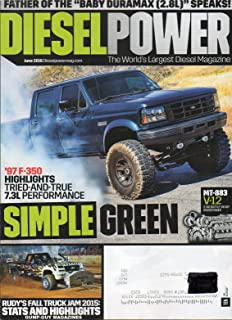 Diesel Power June 2016 The World's Largest Diesel Magazine RUDY'S FALL TRUCK JAM 2015: STATS AND HIGHLIGHTS MT-883 V-122,740 Battle-Ready Horsepower