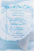 You're the Man I Love ... Today, Tomorrow, Forever! Happy Birthday Greeting Card