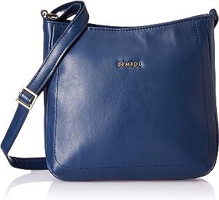 Amazon Brand - Symbol Women's Handbag (Navy)