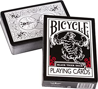 Best bicycle black tiger playing cards by ellusionist Reviews